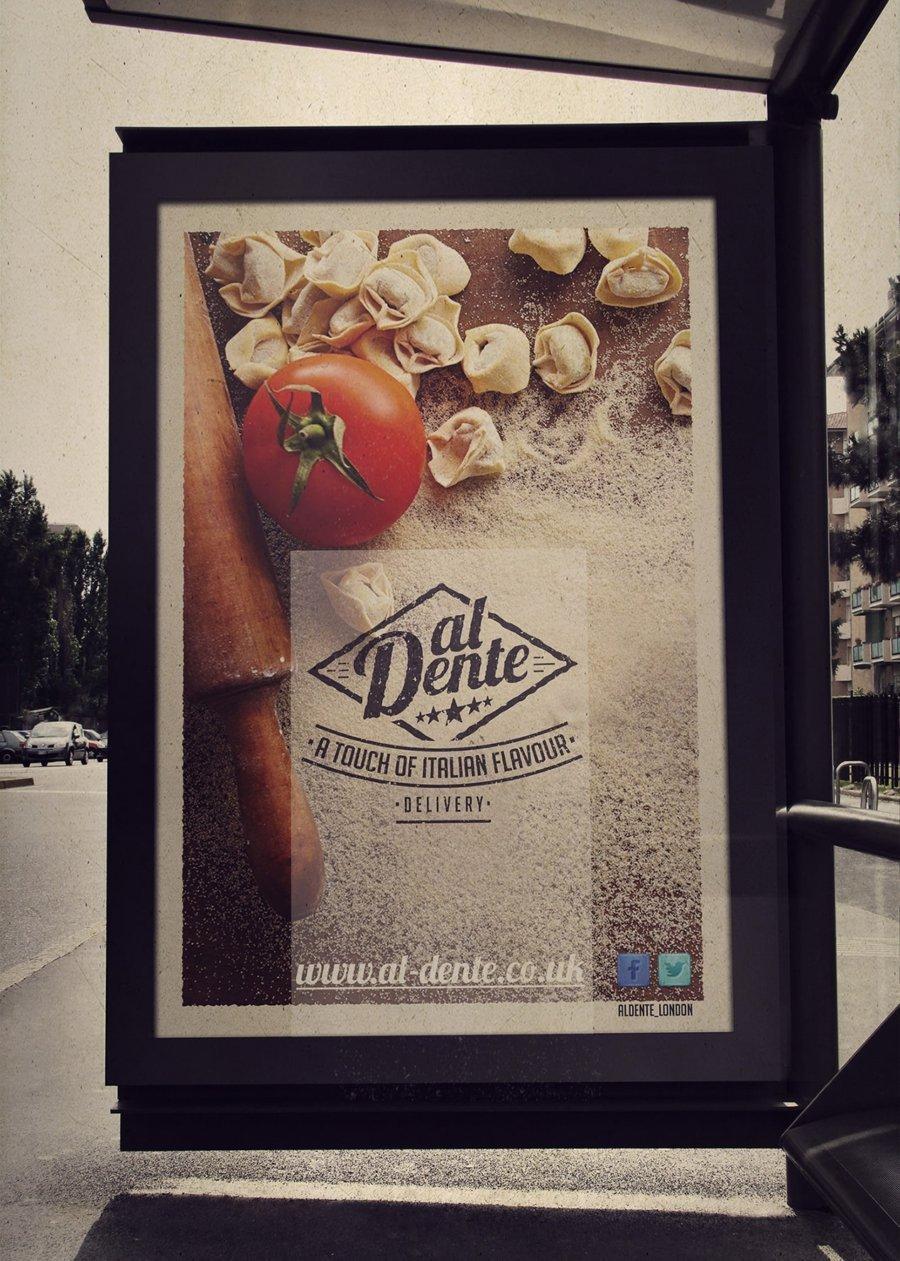 STREET ADVERTISING AL DENTE